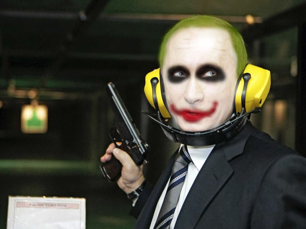 """Putin/Joker"" - DominkH"