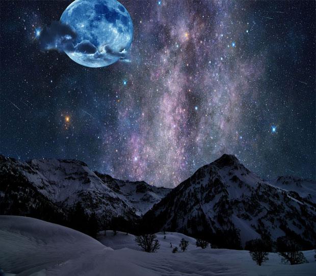 """Fantasy Nightscape"" - MikeC"