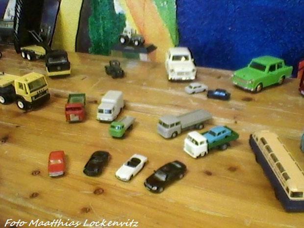 Die Auto´s & Lkw´s & Traktoren & Schiff´s Ausstellungstisch