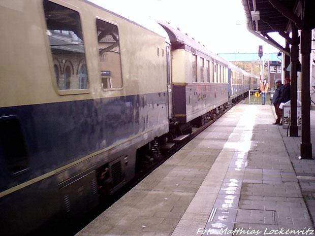 Die Sonderzugwagen (Alter Reisezugwagen)