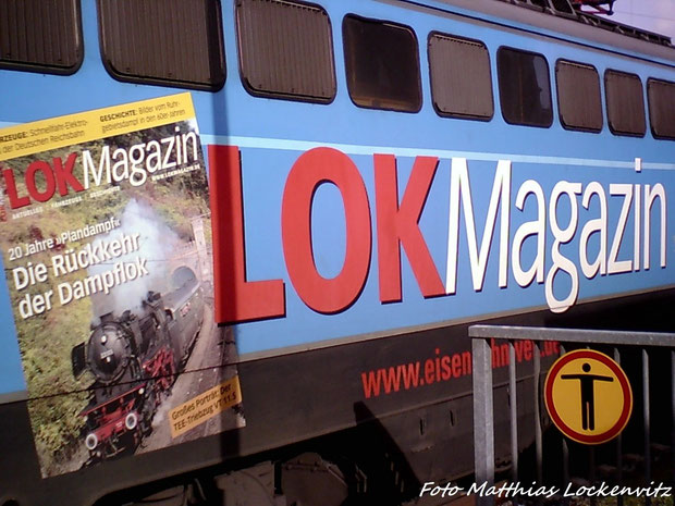 LOK Magazin Werbung an der 1042 520-8