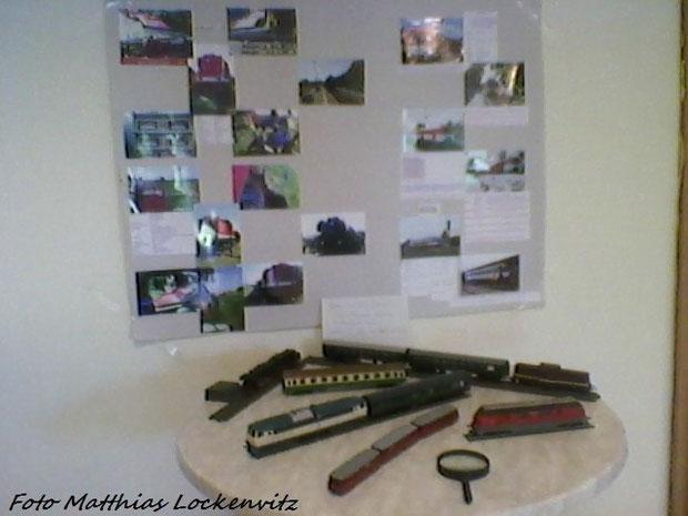 Modellbau-Ausstellung In Bergen auf rügen vom 9 september / hier Sehen Sie Meine Züge / Der Deutsche Reichsbahn Tisch