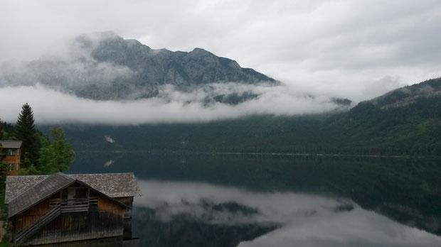 Altausseer See - ca. 15 Min. vor dem Start