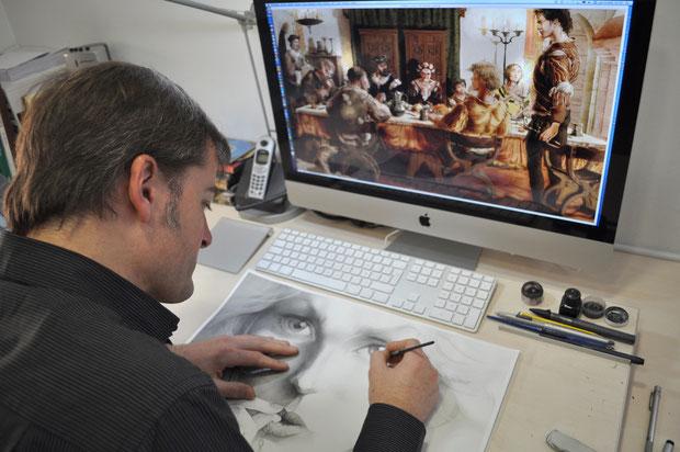 Juan Luis Landa dibujante