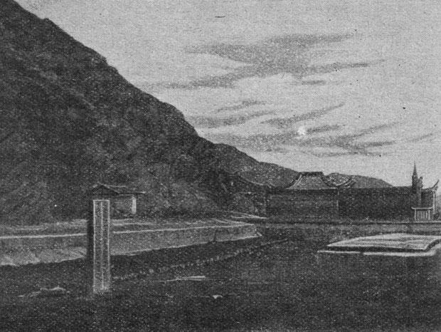 Tombeau de marins. À travers le monde. Hachette, Paris, 1906, pages 411-414.