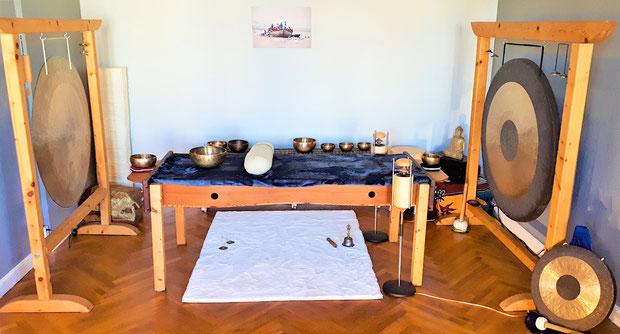 Klangschale Klangtherapie Entspannung