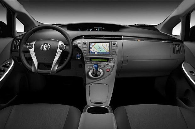 Prius Plug-in Hybrid Cockpit