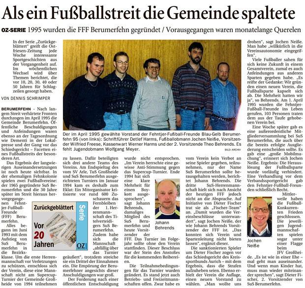 (Ostfriesen-Zeitung vom 02. Mai 2015)