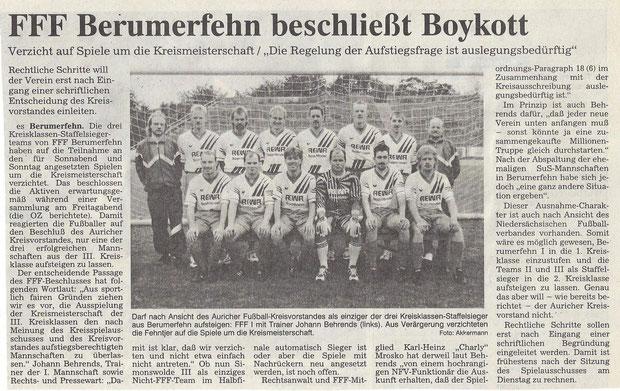 (Ostfriesen-Zeitung vom 17. Juni 1996)