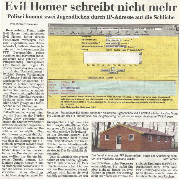(Ostfr. Kurier vom 28. Mai 2002)