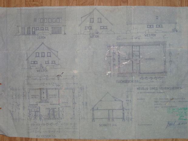 So sieht die vom Landkreis Aurich genehmigte Bauzeichnung für das Umkleidegebäude der Fehntjer-Fußball-Freunde aus.