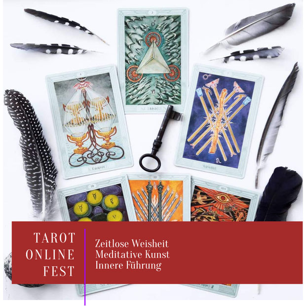 Online Tarot Workshops: Meditatives Karten-Legen lernen, Tarot verstehen, Intuition stärken