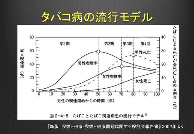 図3. タバコ病の流行モデル