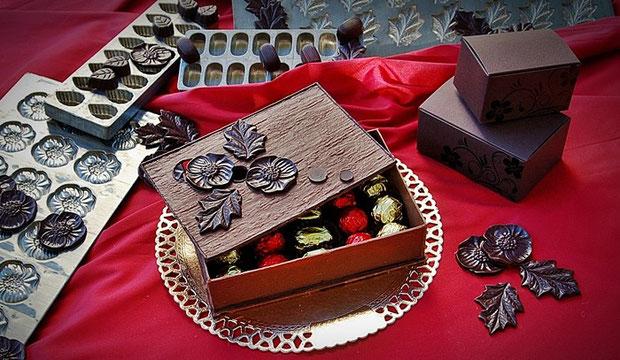 Schokoladen Selektion