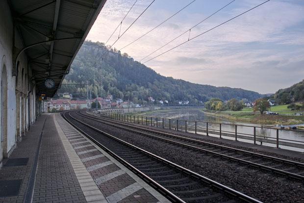 Bahnhof Königstein sächsische Schweiz
