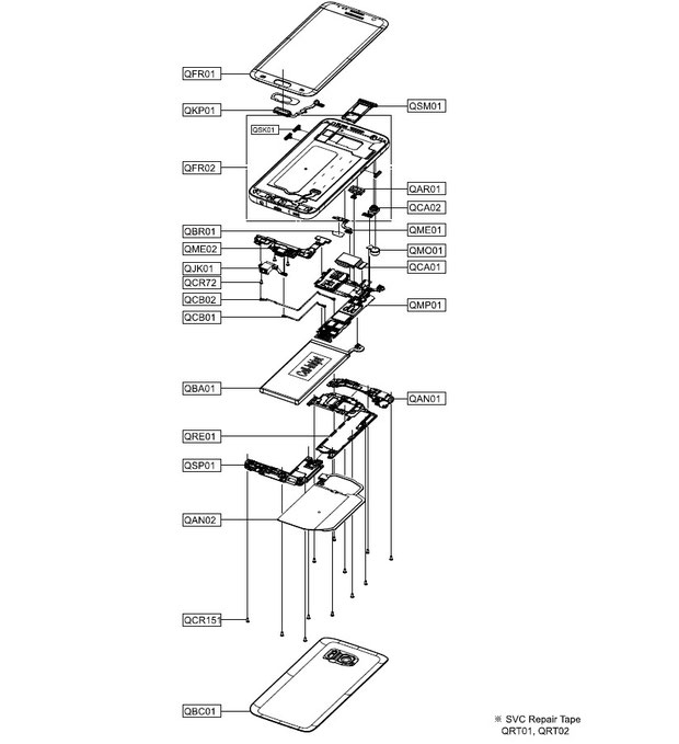 samsung s7 schematic  u0026 diagrams