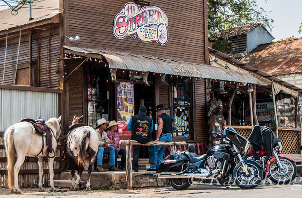 Saddle up to the bar in Bandera, Texas