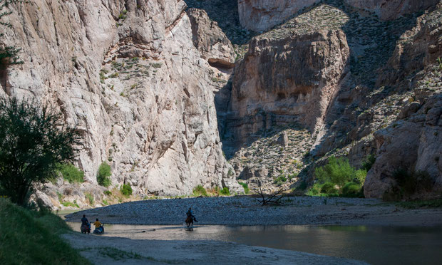 Natives of Boquillas Canyon (Big Bend)