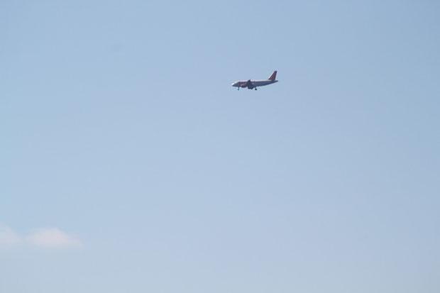 Anflug auf Airport Dubrovnik.