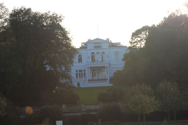 Villa Hammerschmidt Bonn-ehemaliger Amtssitz des Bundespräsidenten in Bonn.