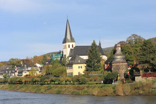 Unkel-hier lebte und starb Willy Brandt.
