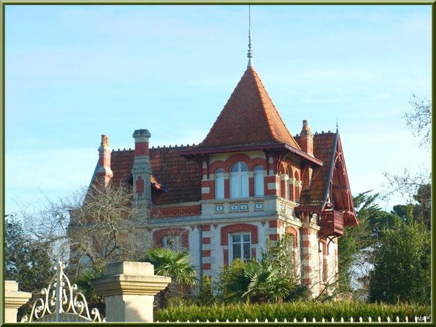 La villa Teresa en Ville d'Hiver à Arcachon