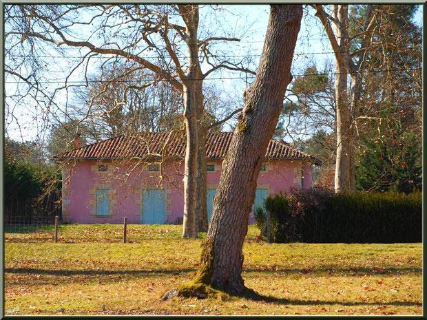 L'airial et une maison jouxtant la chapelle Saint-Roch à Saugnacq-et-Muret (40)