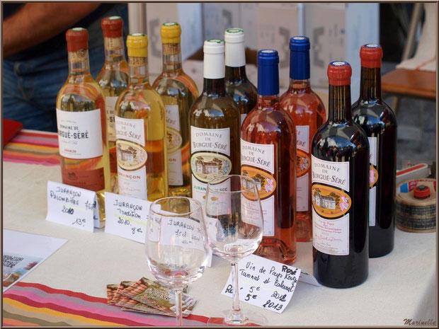 Etal vins de Jurançon, Fête au Fromage, Hera deu Hromatge, à Laruns en Vallée d'Ossau (64)