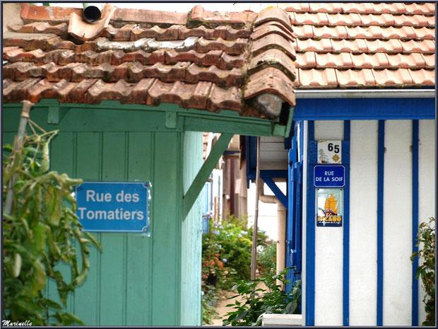 Ruelle entre Rue des Tomatiers et Rue de la Soif, Village de L'Herbe, Bassin d'Arcachon (33)