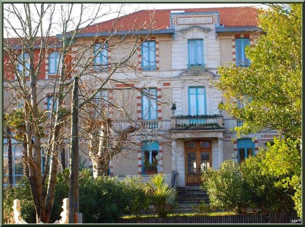 L'hôtel Régina et d'Angleterre en Ville d'Hiver à Arcachon