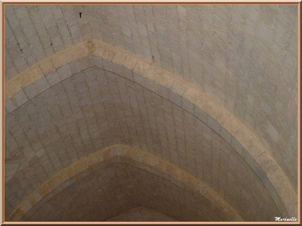 Voûtes intérieures de l'abbaye de Silvacane, Vallée de la Basse Durance (13)