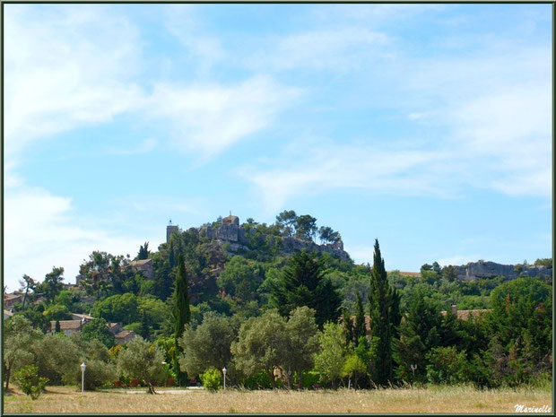 Eygalières, petit village perché dans les Alpilles, Bouches du Rhône