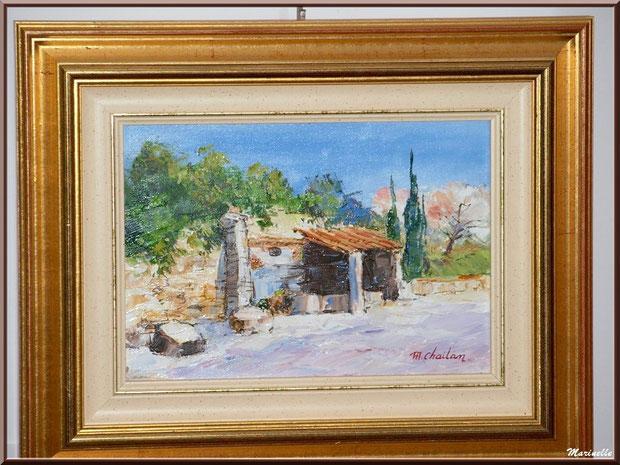 Musée Marc Deydier, village de Cucuron, Lubéron (84) : exposition tableaux provençaux