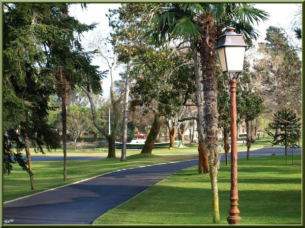 Le Parc Mauresque en Ville d'Hiver à Arcachon
