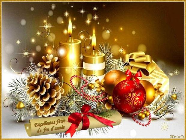 Excellentes fêtes de fin d'année