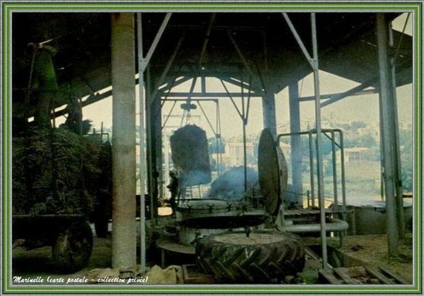 Il y a juste quelques années... Une distillerie (carte postale - collection privée)