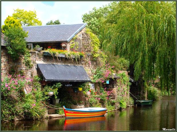 Circuit des lavoirs en bateau sur Le Trieux à Pontrieux, Côtes d'Armor (22)