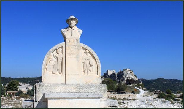 Monument de Charloun Rieu, Château des Baux-de-Provence, Alpilles (13)