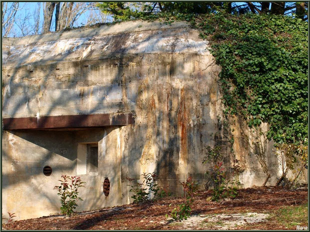 Le blockhaus au Parc de la Chêneraie à Gujan-Mestras (Bassin d'Arcachon)