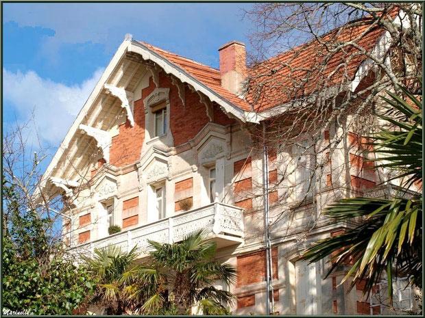 La villa Carmen en Ville d'Hiver à Arcachon
