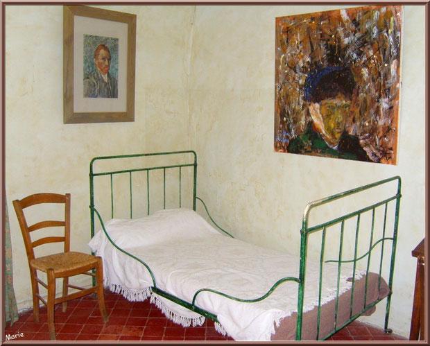 La chambre de Van Gogh au monastère de Saint Paul de Mausole à Saint Rémy de Provence (Alpilles - 13)