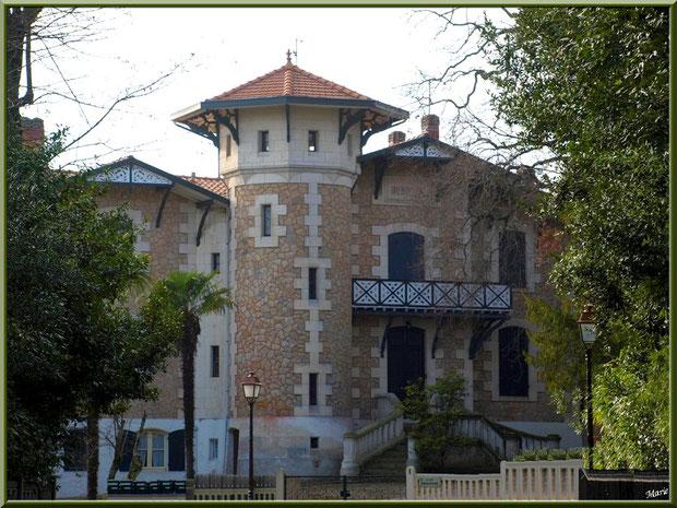 La villa Brémontier en Ville d'Hiver à Arcachon