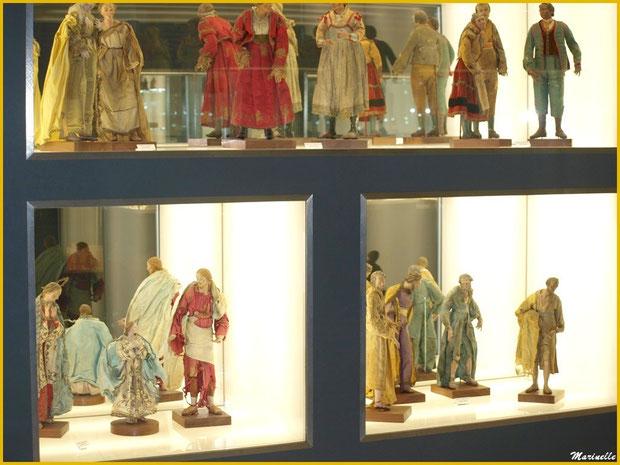Musée des Santons, Baux-de-Provence, Apilles (13) : très vieux santons