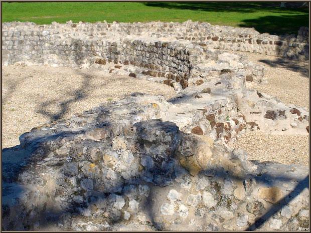 Les vestiges de la villa Gallo-Romaine à Andernos-les-Bains, Bassin d'Arcachon