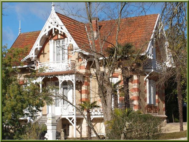 La villa Germaine-Angèle en Ville d'Hiver à Arcachon
