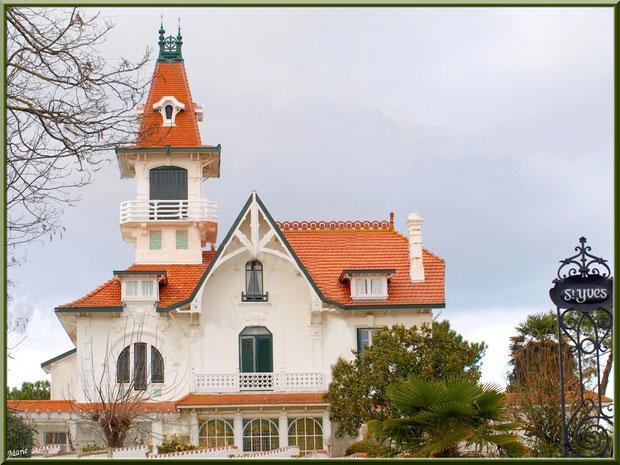 La villa St Yves en Ville de Printemps à Arcachon, Bassin d'Arcachon