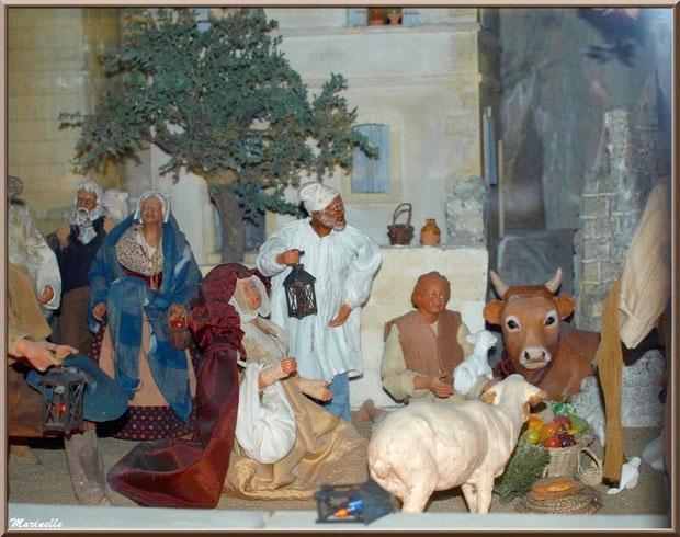 Musée des Santons, Baux-de-Provence, Apilles (13) : cérémonie du pastrage
