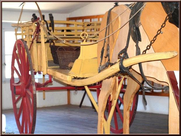 Musée Marc Deydier, village de Cucuron, Lubéron (84) : scène ancestrale, travaux des champ