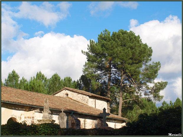 Eglise Saint Pierre de Mons et le cimetière, Belin-Beliet (Gironde)