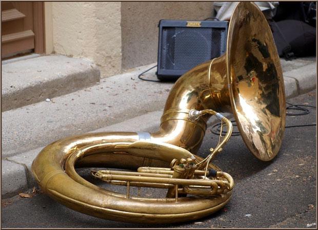 trombone dans la rue
